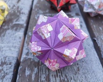 Diversity Of Kusudama Models. Wonderful Modular Origami Balls ... | 270x340