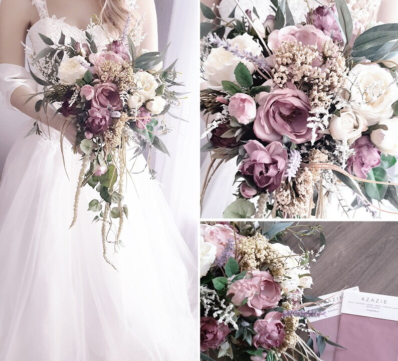 NEW Ready to Ship Wildflower Collection Bridal Cascade image 0