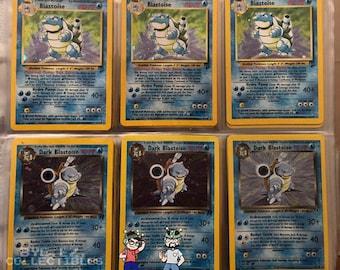 ORIGINAL Pokemon 8 card Lot ~ 100/% Vintage !