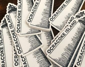 Ocracoke Lighthouse Sticker