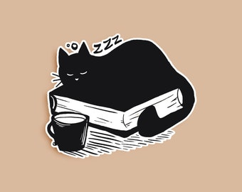 Cat Nap Sticker
