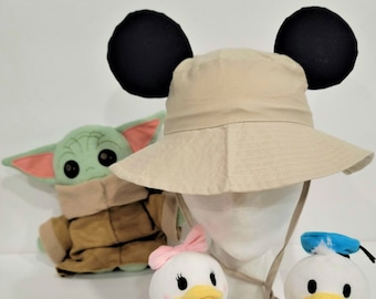 Baby Toddler Child Bucket Ear Hat   Disney Hat   Disney Ear Hat   Bucket Hat   Mickey Minnie Ears
