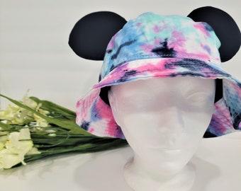 Bucket Ear Hat   Disney Hat   Disney Ear Hat   Bucket Hat   Tie Dye Hat   Tie Dye Ear Hat   Tie Dye Disney Hat