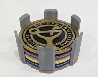 3D Printed Star Wars / Oga Cantina Coaster Set