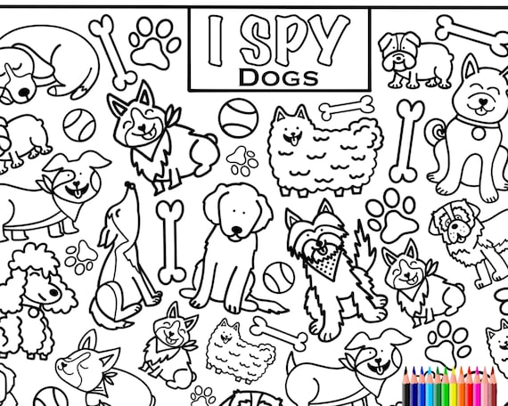 Lol Surprise 15+ I Spy Coloring Sheets For Kids   – Coloring Home