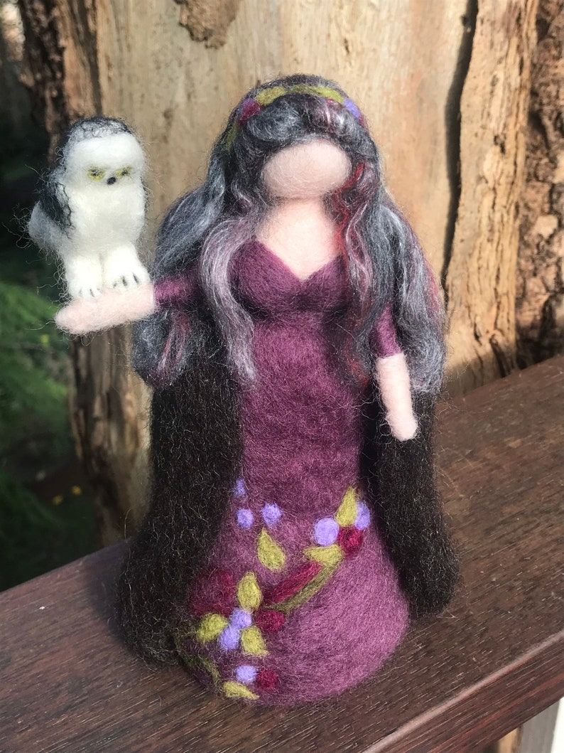 Design your own customised fairy spirit witch goddess doll