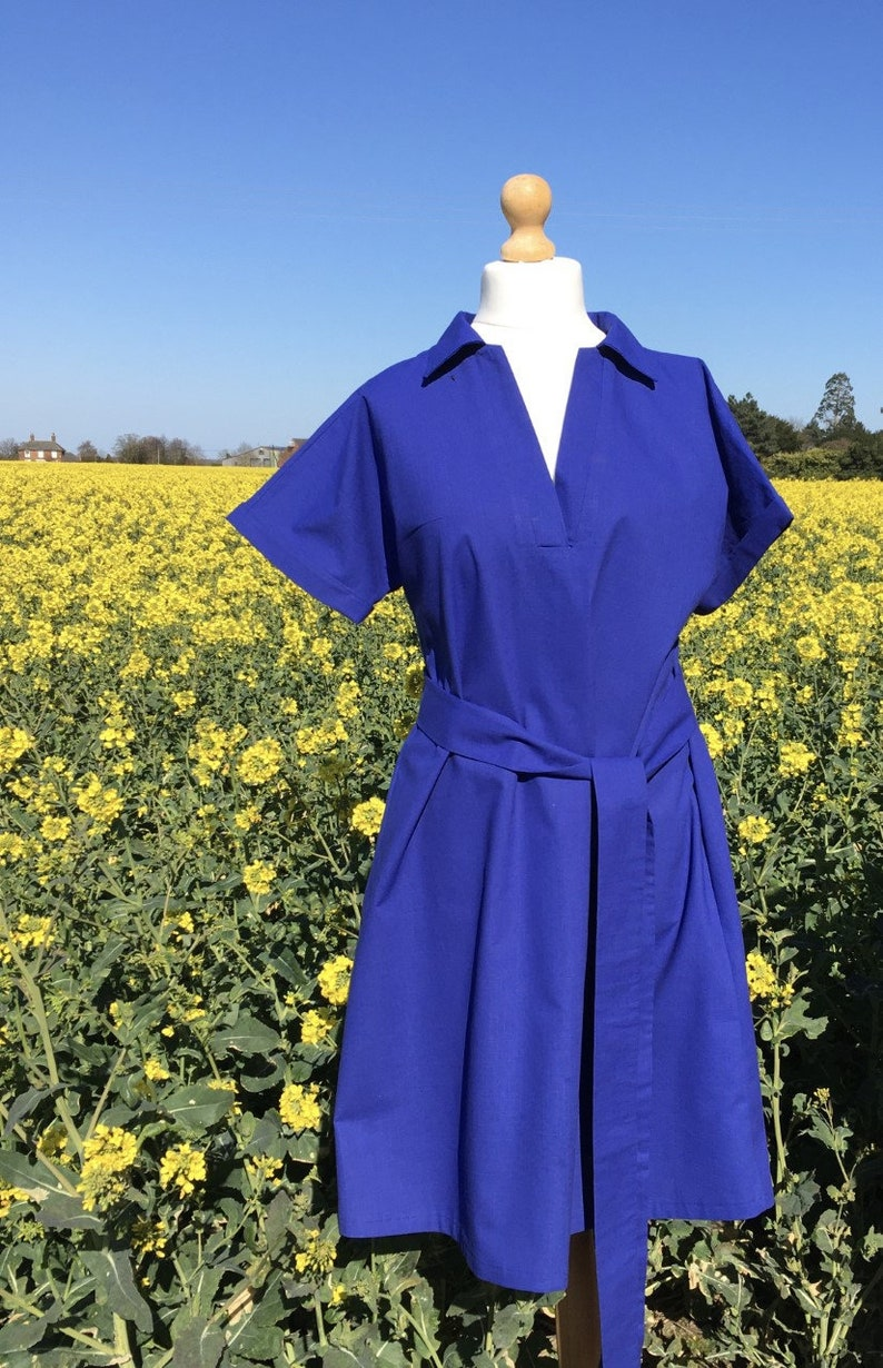 Thirza sewing pattern for dress and top image 0