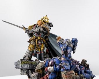 Lion El'Jonson – Primarch of the Dark Angels Legion Painted 40k