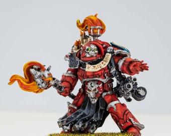 Word Bearers Legion Terminator Praetor Painted
