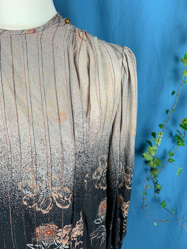 Vintage silk wrap blouse approximately size 10
