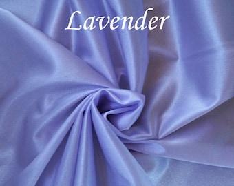 "LAVENDER Aerial Silks Fabric 108"" wide no-stretch Tricot for Aerial Dance, Aerial Tissue, Aerial Yoga"