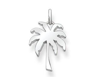 6 pcs Tibet silver Palm Tree Charms 21x20mm DIY Jewellery Making crafts