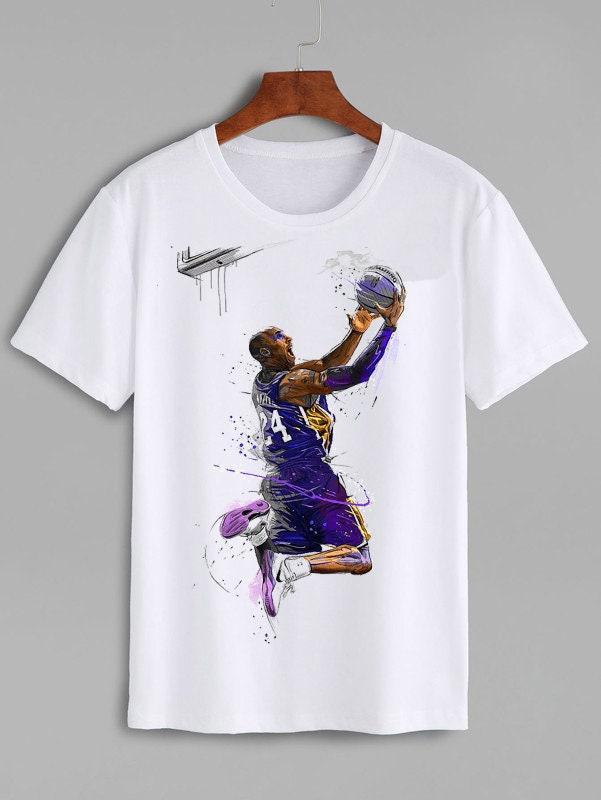 Kobe Bryant Shirt Kobe Bryant T-shirt Unisex Shirt Black Mamba Kobe Bryant Black Mamba Los Angeles La Unisex Tshirt