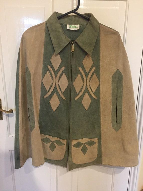 Vintage Mexican jacket poncho