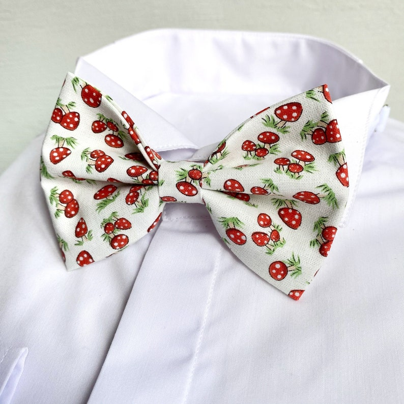 Goblincore bowties for men Woodland bow tie Groomsmen proposal