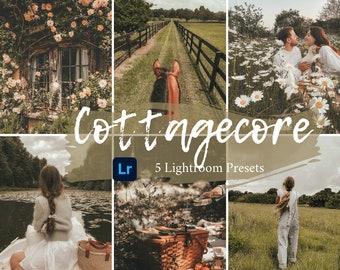 5 Mobile & Desktop Lightroom Presets | Cottagecore Presets | Instagram blogger