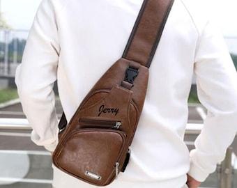 Shoulder bag men   Etsy