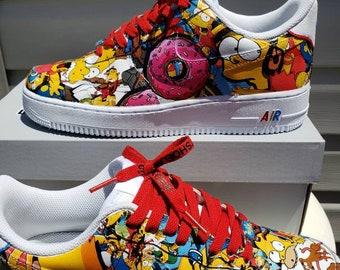 perdonado Pensativo En consecuencia  Simpson custom shoes   Etsy
