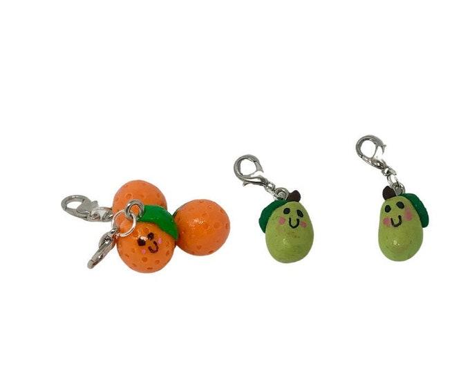 Fresh Fruit Bridle Charms!