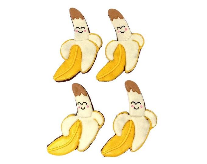Four Peanut Butter Bananas