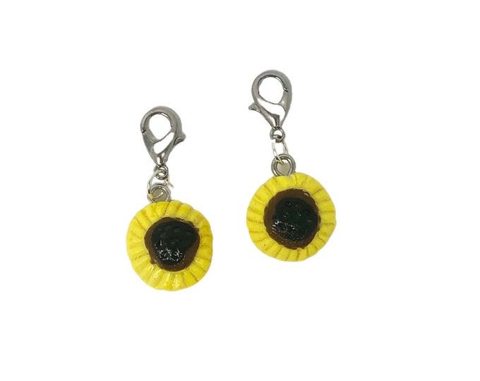 Sunflower Bridle Charms!