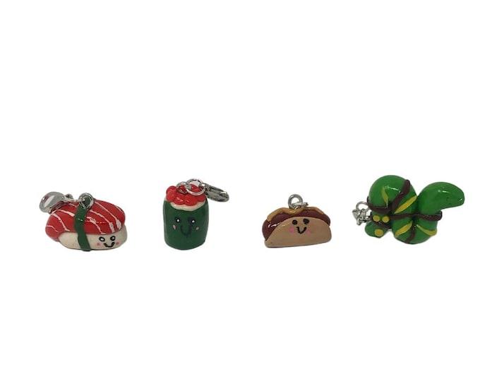Sushi, Hot Dog, & Snake Bridle Charms!