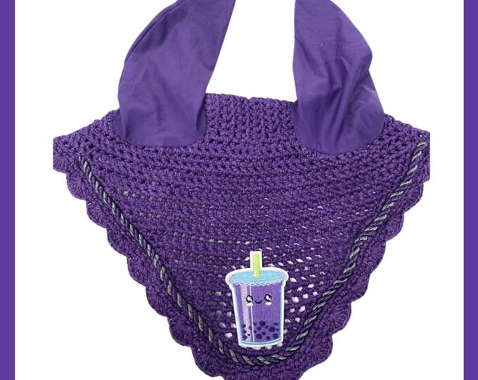 NEW Purple Bubble Tea Bonnet! Horse-Sized