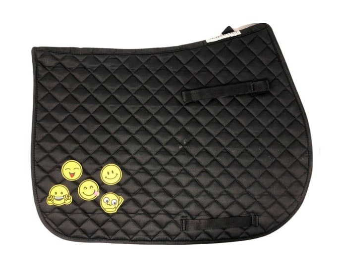 Choose Any of These Patches on the Black All-Purpose Saddle Pad!
