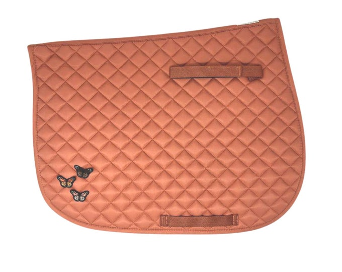 Choose Any of These Patches on the Apricot All-Purpose Saddle Pad!