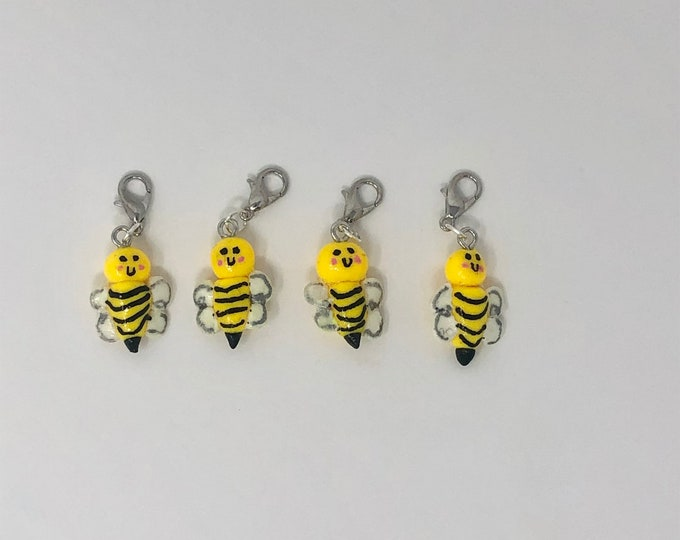 Bumblebee Bridle Charms!