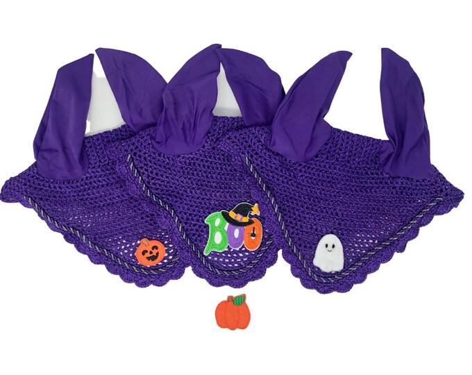 Purple Halloween Bonnets!