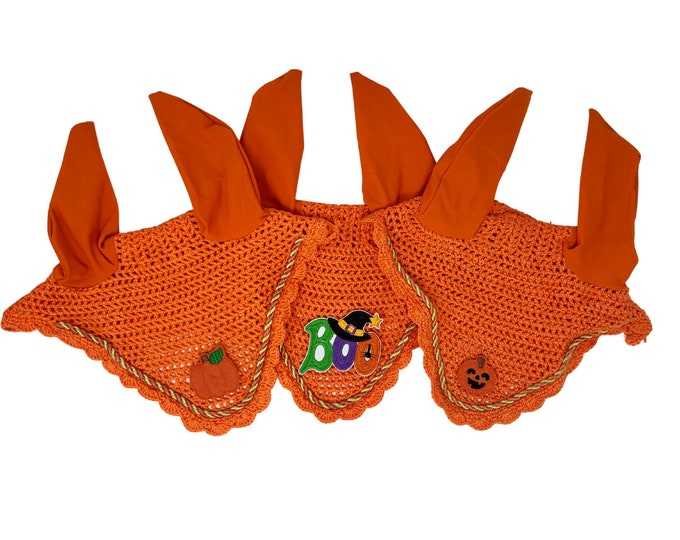 Orange Halloween Bonnets!
