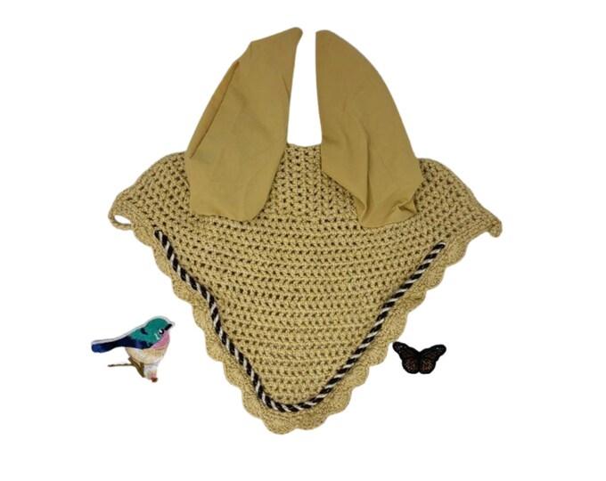 Choose Your Patch Tan Bonnet! Horse Size