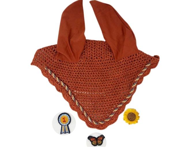 Choose Your Patch Rust Bonnet! Horse-Sized