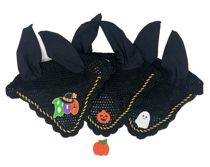 Black Halloween Bonnets!