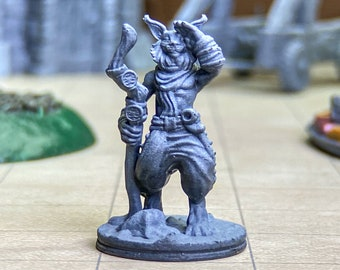 Tabaxi Miniature Etsy Can be use as a model for d&d games or other tabletop games. tabaxi miniature etsy