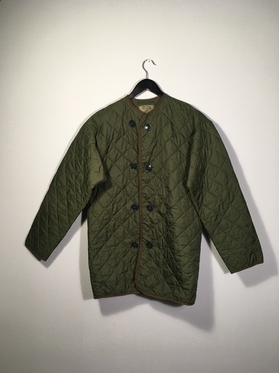 Authentic British Army /  Size-XL / Quilted Liner