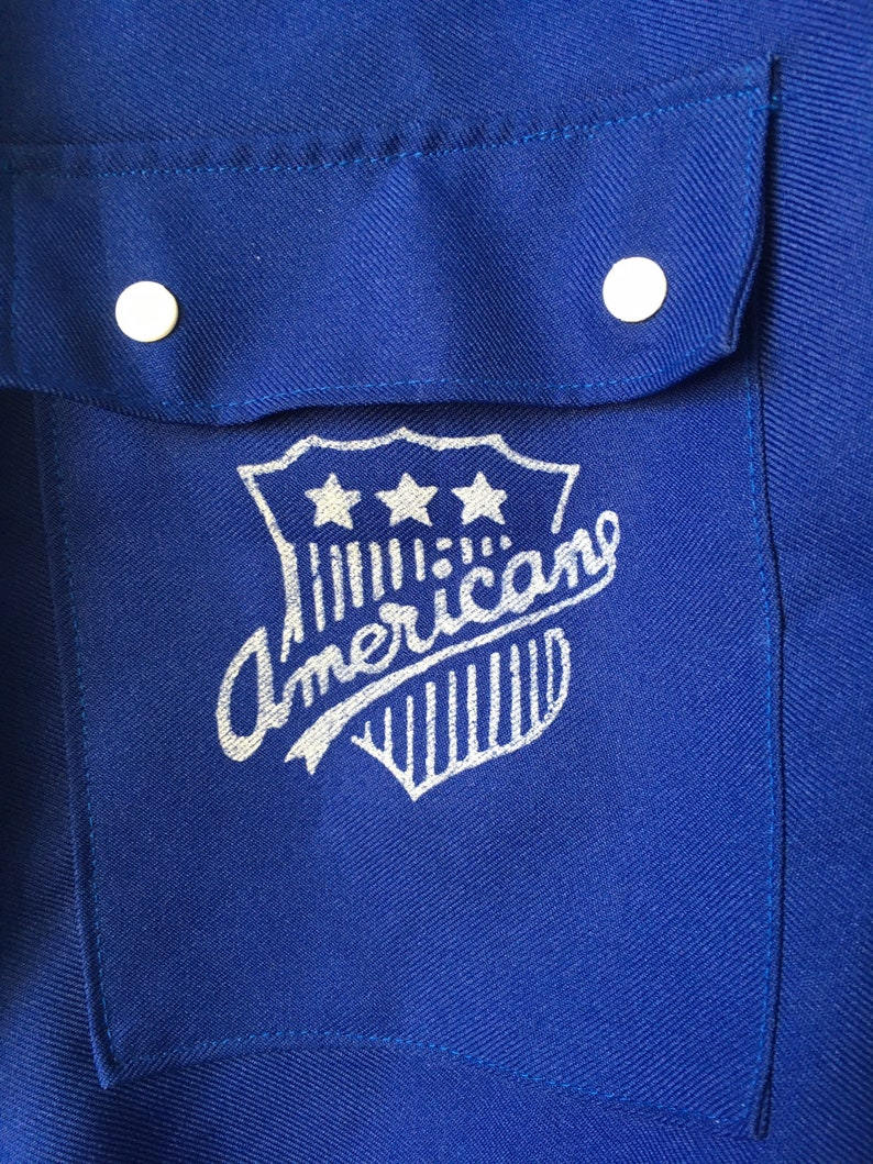 Size-S-M  Vintage Jacket  Navy Blue  Made in USA  Tennis  Sport