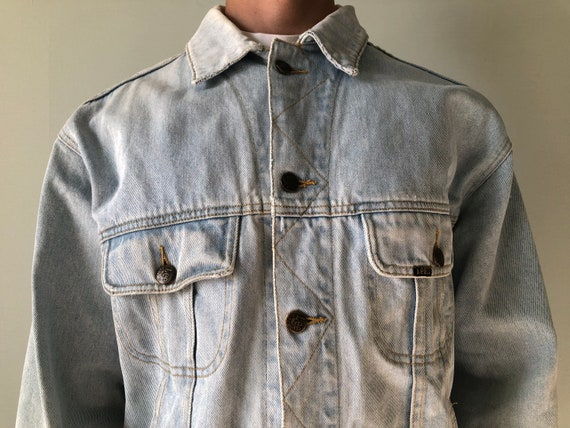 Vintage Lee Riders Jacket / Denim Jacket / 1970s-1