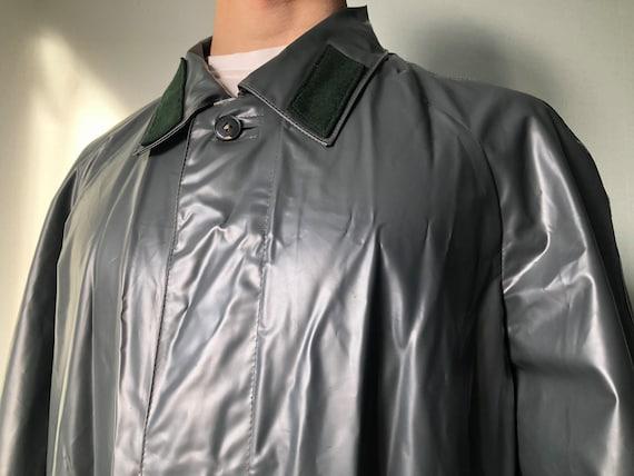 Vintage Army Raincoat / Military Surplus