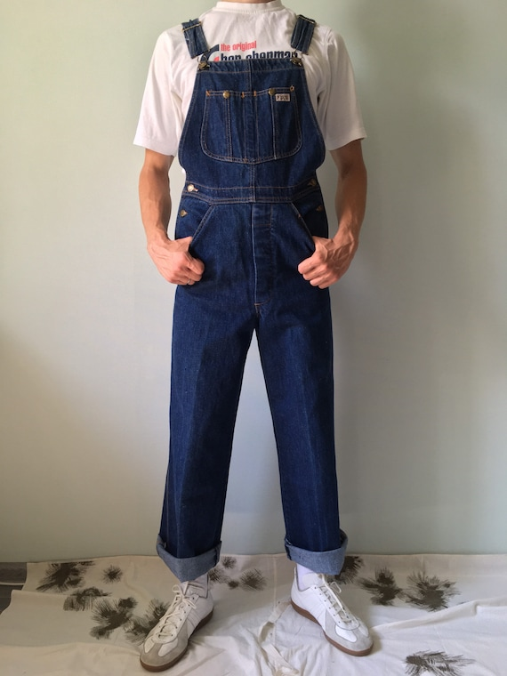 Vintage Overalls / Denim / Jean Machine / Workwear