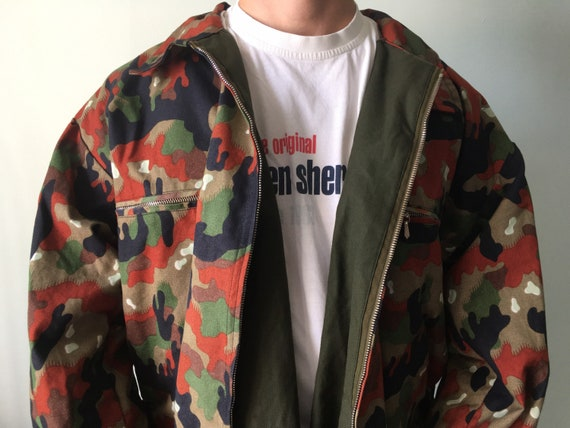 Vintage Military Jacket / Military Surplus / Field