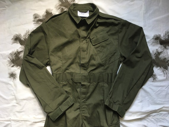 Vintage Coverall British Army / Size - S / Jumpsui
