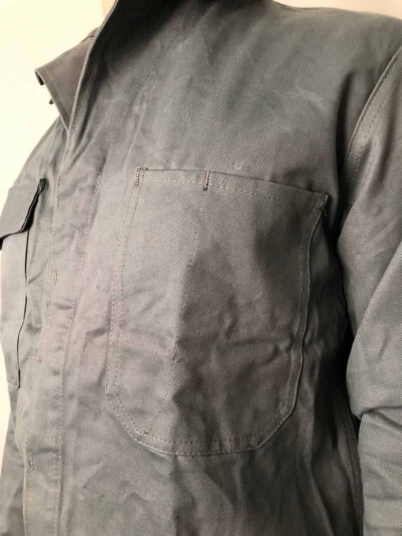 Vintage Swiss Work Jacket  Size S  Vintage Workwear  Chore Jacket
