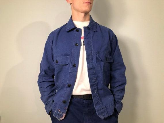 French Vintage Work Jacket / Size M / Vintage Work