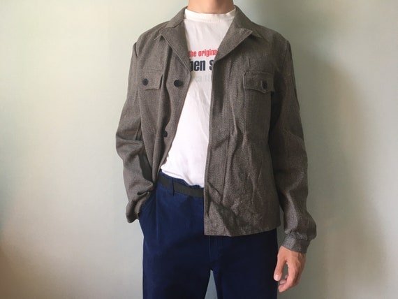 Vintage Chore Coat / Size-M-L / Coat Jacket / Work