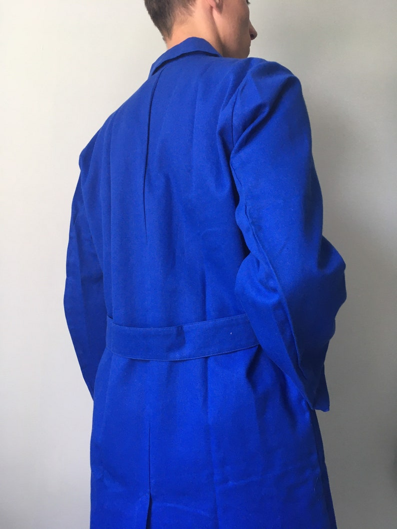 French Chore Coat  Deadstock  Size S-M  Robur Vintage  Work Smok  Workwear