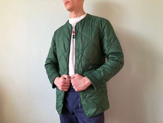 Quilted Jacket / German Army / Size S / Liner Jack