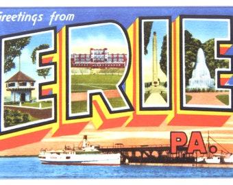 "Greetings from Allentown Pennsylvania FRIDGE MAGNET /""style A/"" travel souvenir"