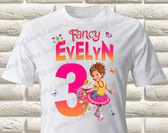 Fancy Nancy Iron On Transfer, Fancy Nancy Birthday Girl Iron On Transfer, Fancy Nancy Birthday Shirt Iron On Transfer, Fancy Nancy Shirt